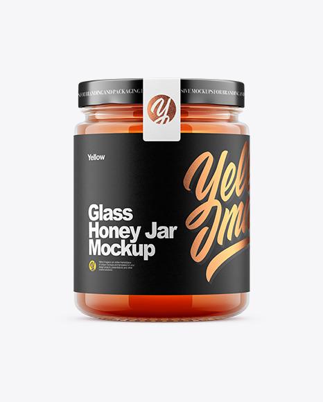 Download Honey Jar PSD Mockup