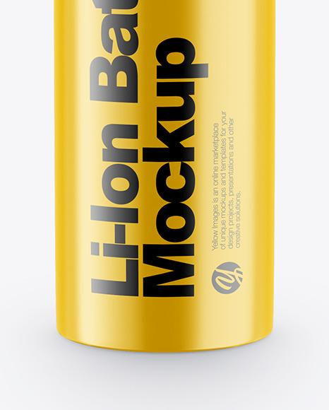 Li-Ion Battery Mockup