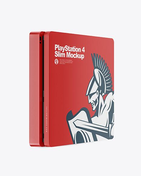 Download PlayStation 4 Slim PSD Mockup