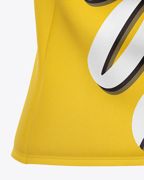 Download Melange Tank Top Mockup Back View Yellowimages