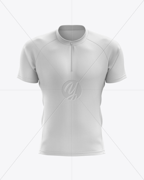 Men's Cross Country Jersey mockup (Front View)