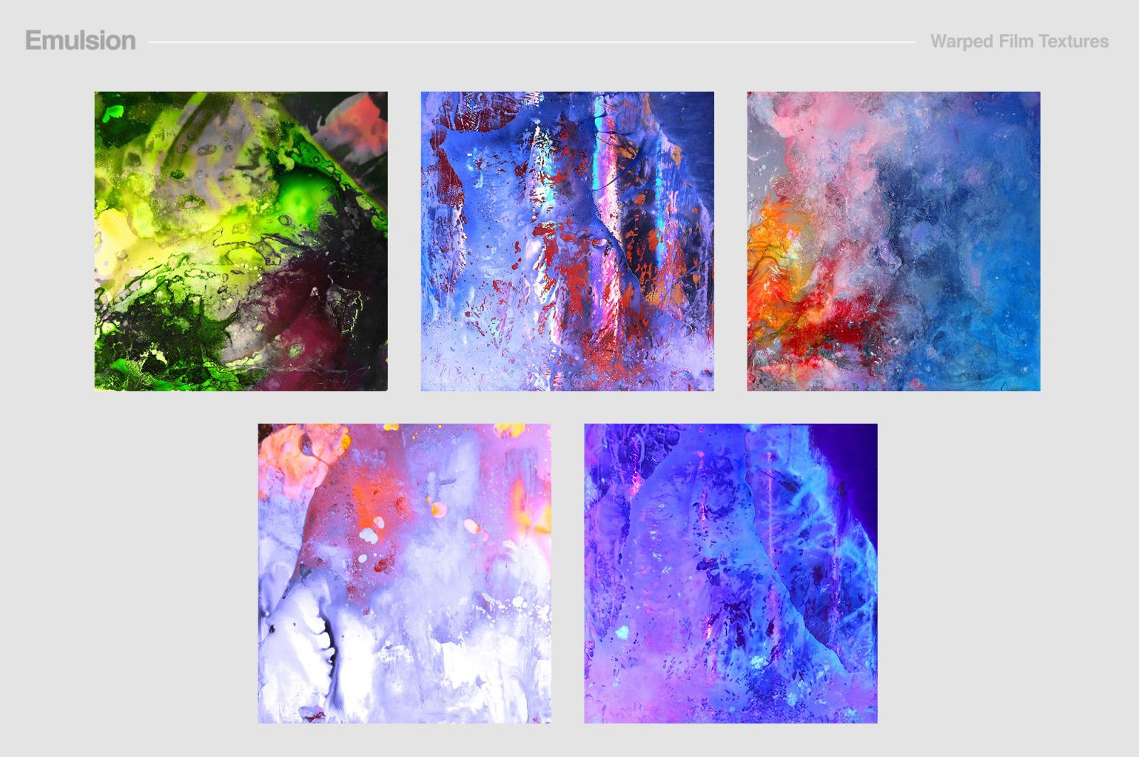 Emulsion: Warped Film Textures