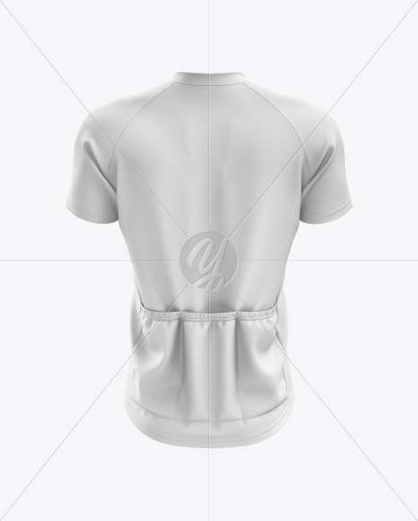 Men's Cross Country Jersey mockup (Back View)