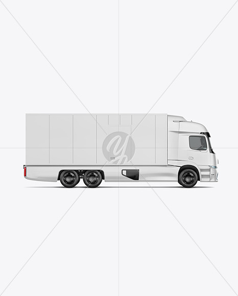 Download Electric Pickup Truck Mockup Front View In Vehicle Mockups On Yellow Images Object Mockups PSD Mockup Templates