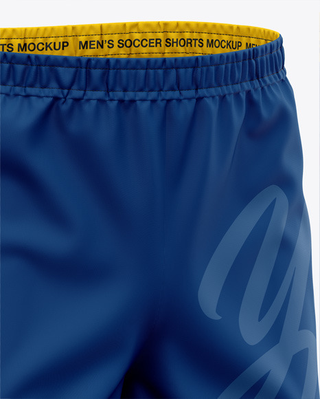 Men's Woven Shorts - Front Half-Side View