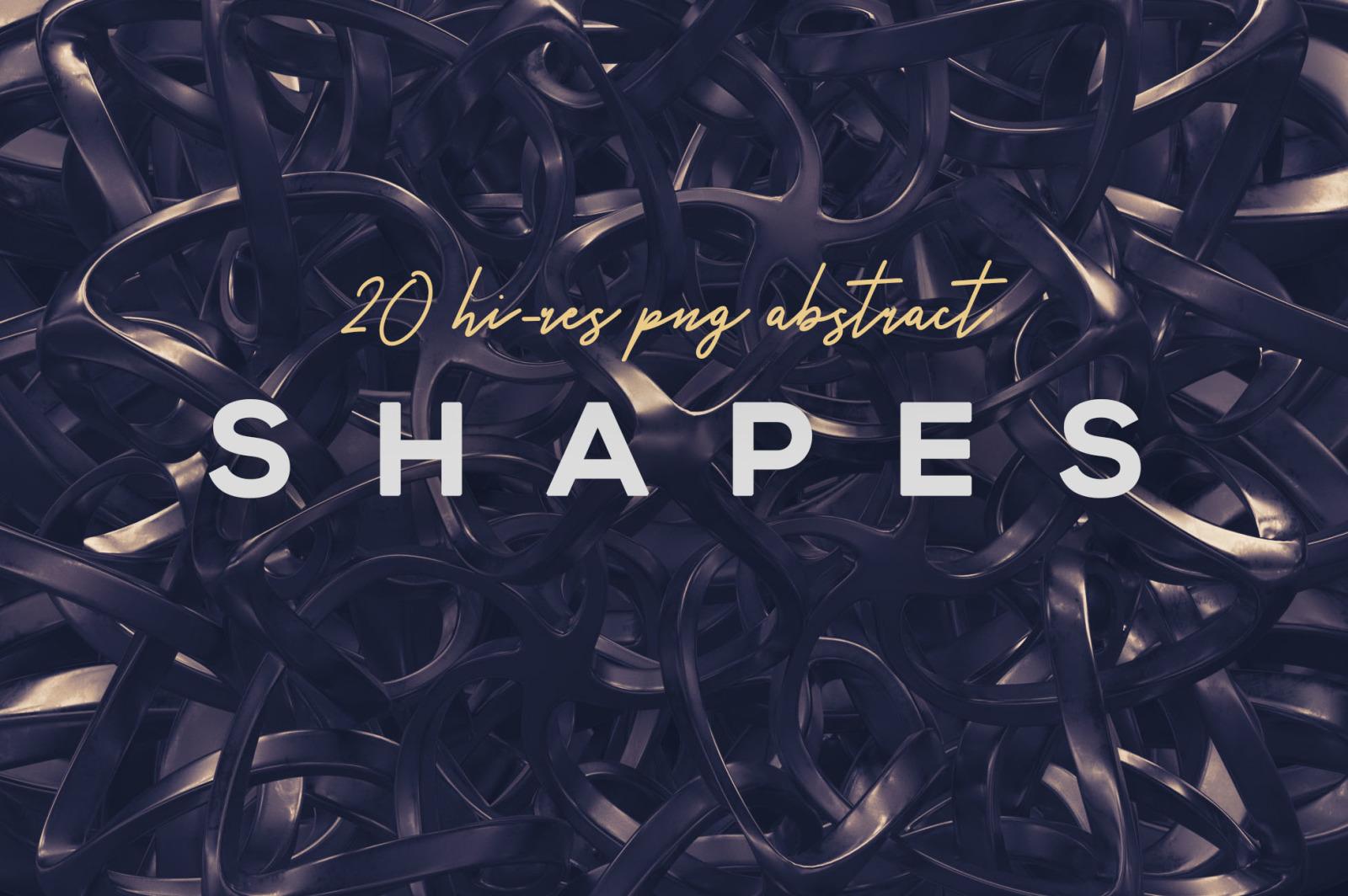 Futuristic 3D Shapes