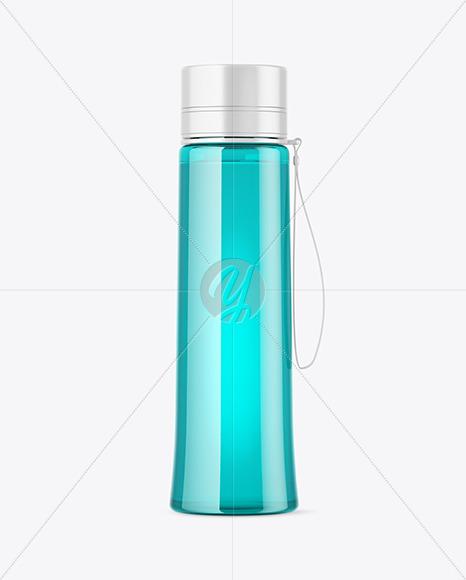 Plastic Sport Bottle Mockup