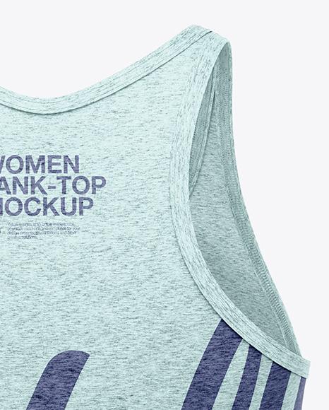 Melange Women's Tank Top Mockup