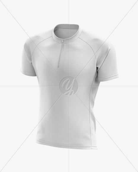 Men's Cross Country Jersey mockup (Half Side View)