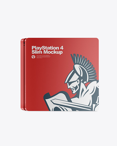 PlayStation 4 Slim Mockup