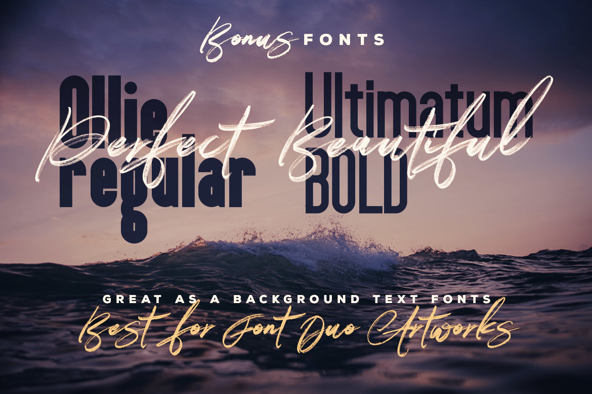 Right Brush & SVG Font