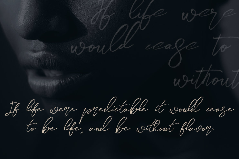 Midnight Brush & SVG Font