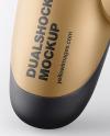 Matte Metallic DualShock 4 Controller Mockup