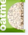 Food Bag w/ Oatmeal Mockup