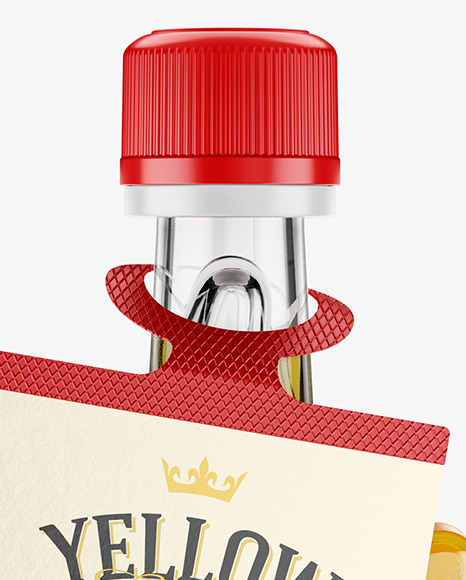 Download Plastic Maple Syrup Bottle Mockup Yellowimages