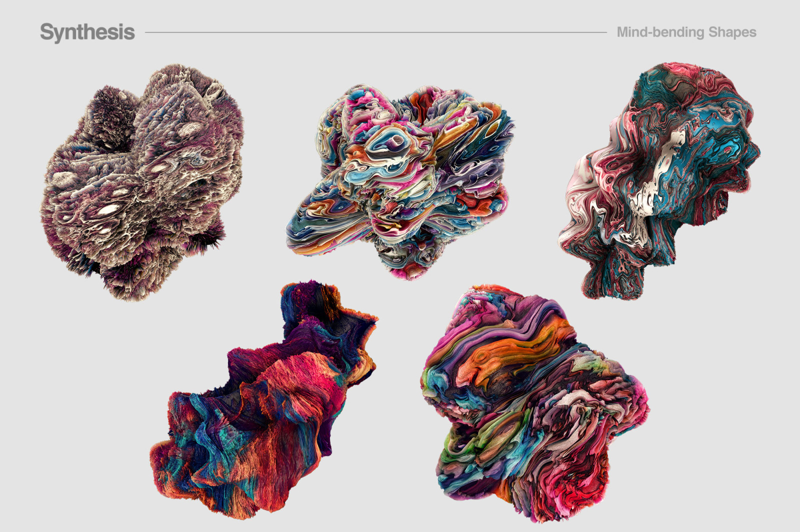 Synthesis: Mind-bending Shapes