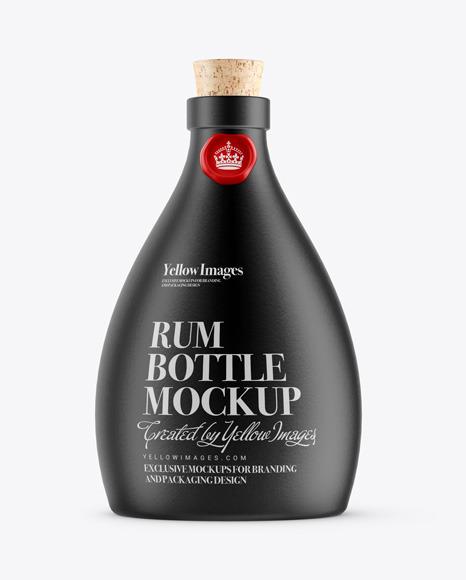 Download Vodka Bottle With Shrink Band Mockup PSD - Free PSD Mockup Templates
