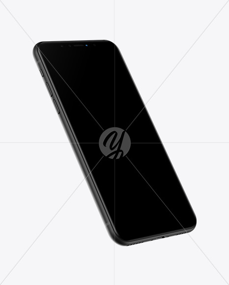 iPhone XR Black Mockup