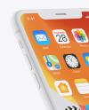 iPhone XR Clay Mockup