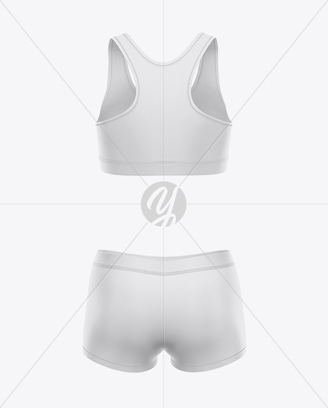 Women`s Underwear Kit - Back View