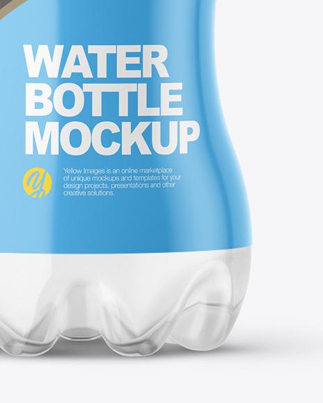 0,5L Water Bottle Mockup