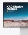 XDR Display Frontal Mockup