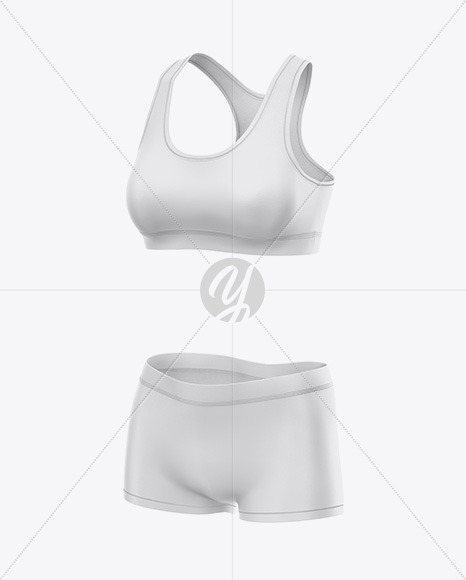 Women`s Underwear Kit - Front Half Side View