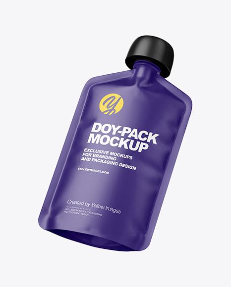 Matte Doy-Pack Mockup