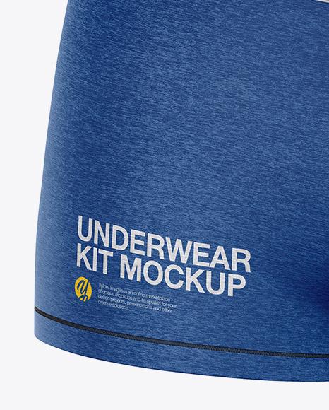 Melange Women`s Underwear Kit - Front View