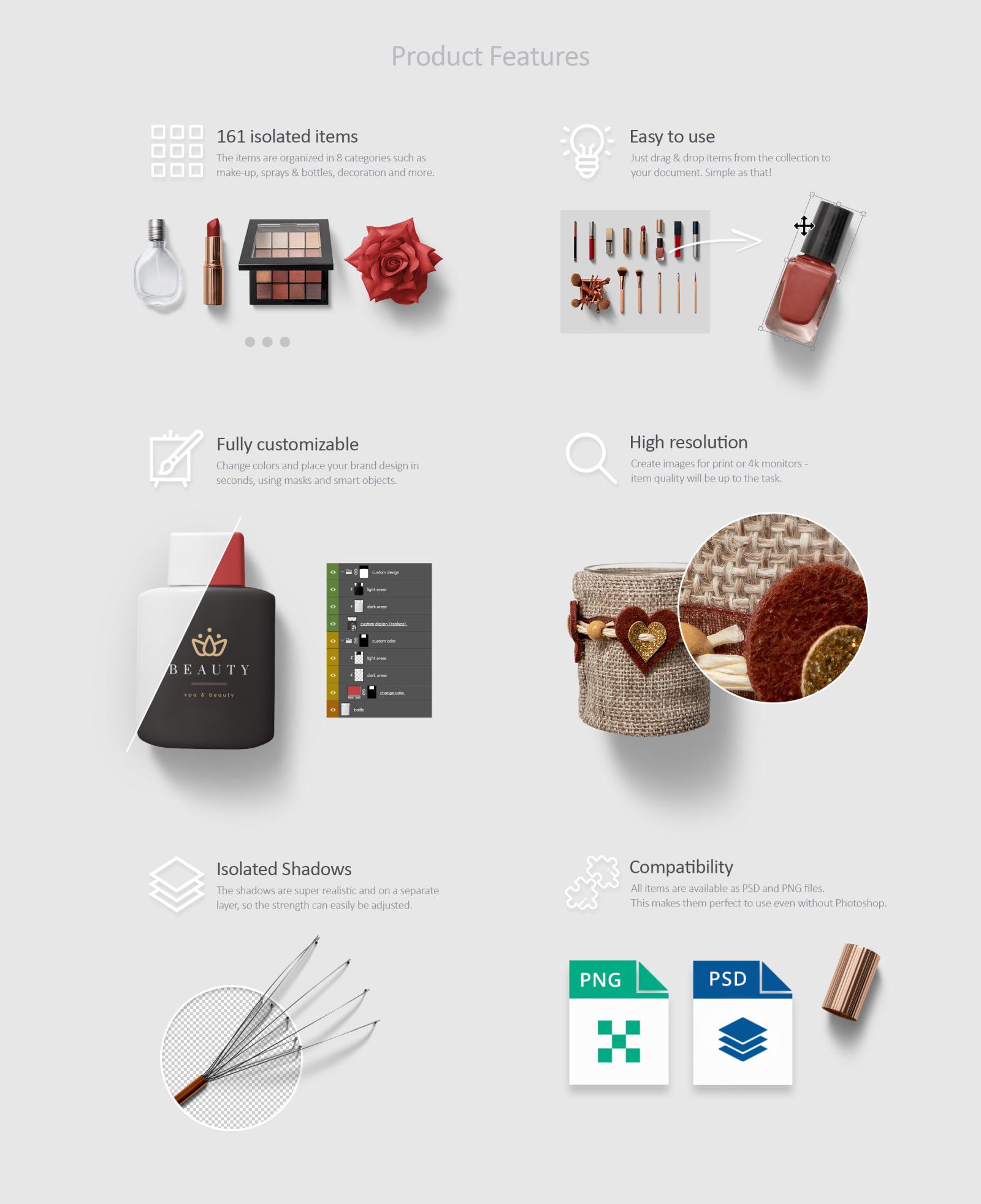 Beauty & Cosmetics Scene Generator