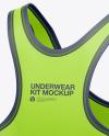 Women`s Underwear Kit - Back Half Side View