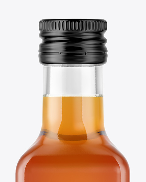 Vinegar Bottle Mockup