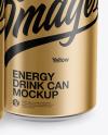Matte Metallic Cans Mockup