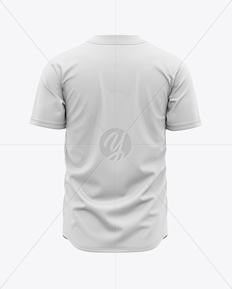 Download Mens Baseball Jersey Mockup Back View Yellowimages