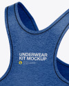 Women`s Underwear Kit - Back Half Side View