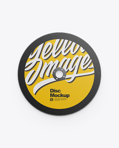Cutting Disc Mockup