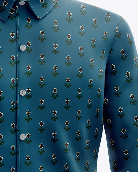 Men's Shirt Mockup - Front View