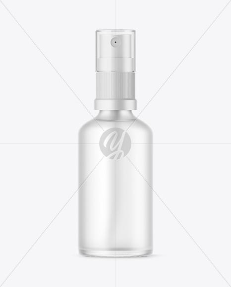 Download Frosted Plastic Sprayer Bottle Mockup PSD - Free PSD Mockup Templates