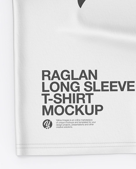 Download Mens Raglan T Shirt 34 Sleeves Yellow Images