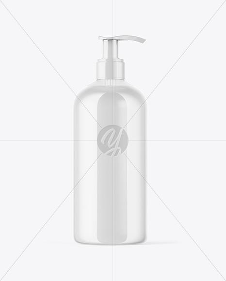Cream Bottle Mockup