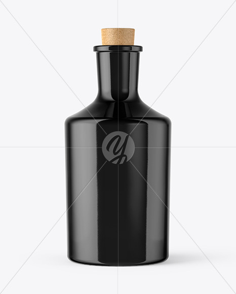 Download Ceramic Bottle With Cork Mockup PSD - Free PSD Mockup Templates