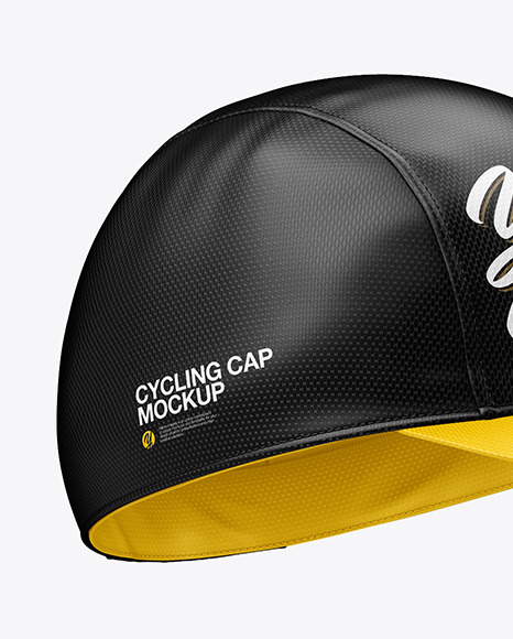 Cycling Cap Mockup