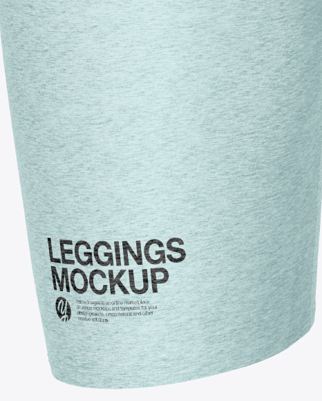 Melange Women's Leggings Mockup