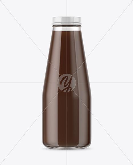 Cold Brew Coffee Bottle Mockup