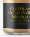 Cold Brew Latte Bottle Mockup