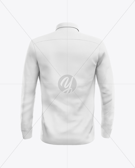 Button shirt Mockup - Back View