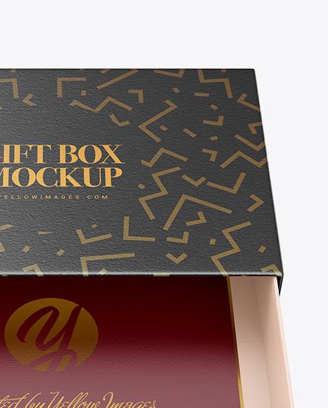 Download Matte Gift Box Mockup Front View PSD - Free PSD Mockup Templates
