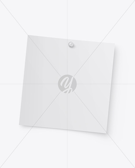 Snapshot w/ Transparent Pin Mockup
