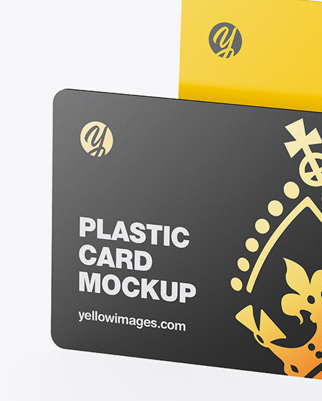 Two Plastic Cards