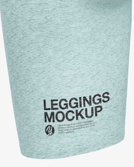 Melange Women's Leggings Mockup